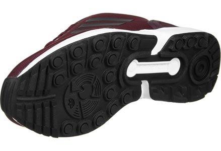 Vinaccia da Unisex adidas Scarpe Rosso Flux Basse Nero Adulto Ginnastica ZX wzzfAtq