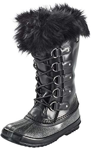 (Sorel Women's Joan of Arctic Lux Boot, Black, 8.5 B(M) US)