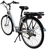 Leopard Vita City - Bicicleta eléctrica para Mujer, 28 Pulgadas ...