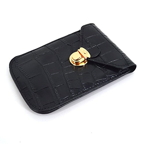 Bag Multi Pattern Bag Wallet Purse Synthetic Pouch Black Leather Shoulder Goodbag Function Crocodile Bag Boutique Girls Fashion Cross Retro Cell Phone Body qPvt6