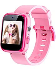 Dwfit Kids Smart Watch,Built in Selfie-Camera,Gift for Boys Girls Age 3-12 Birthday Gift,Multi-Function Touchscreen Smartwatch,Electronic Watches,Toys for 3 4 5 6 7 8 9 Years Old Girl/Boy