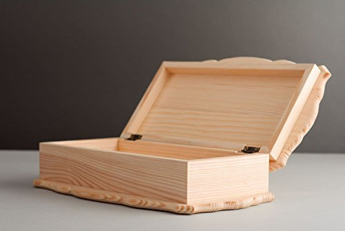 Large Wooden Blank Box