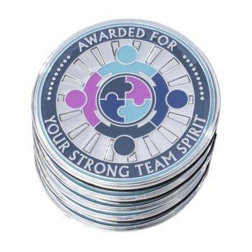 AttaCoin- 5 Coins - Teamwork - Employee Appreciation Gifts - Motivation Award -