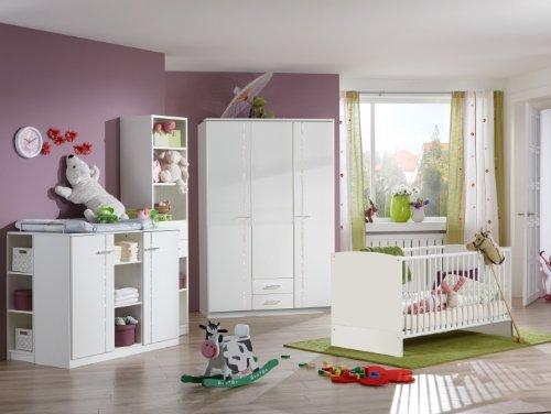 Babyzimmer Elly Weiß 5-teilig