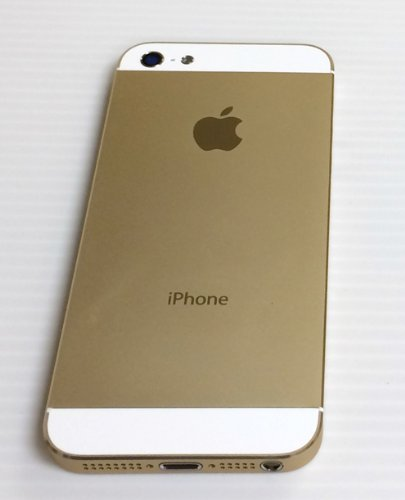 Full Set Of White Gold Metal Back Cover Housing Case Replacement