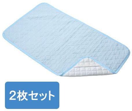 接触冷感 ベビー布団用 敷きパッド 70×120cm 2枚組