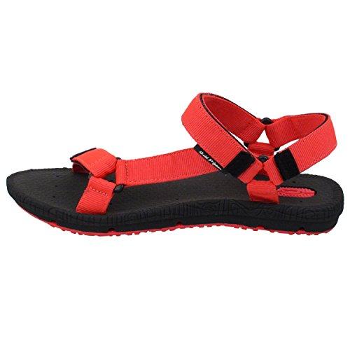 Chaussures De Pigeon Dor Gp5931 Poids Léger Réglable Extérieure Sandales À Dos Deau Pour Les Hommes Et Les Femmes Rose Chaud