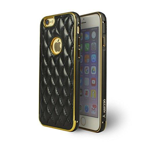 Hex Frame Clip (Arezio iPhone 6 PU Leather Case - Black)