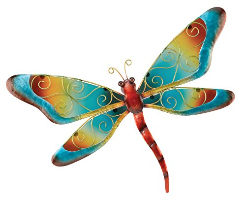Regal Art & Gift Dragonfly Wall Decor, Blue