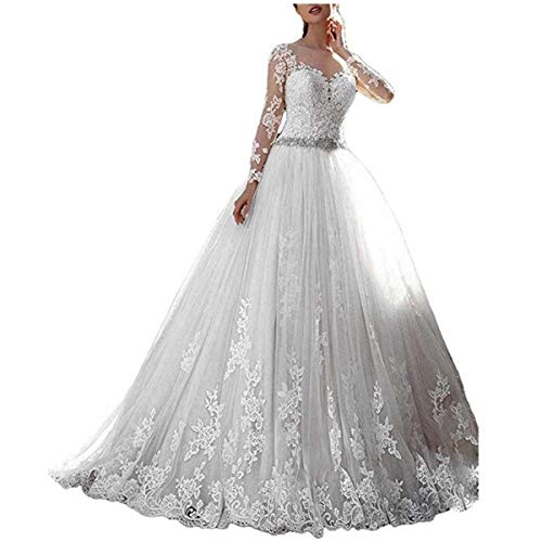 Cardol 2017 Women's Lace Wedding Dresses Bridal Gowns Long...
