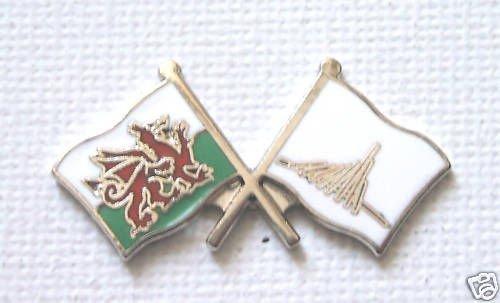Du L'amitié Rhône Gallois Alpes Drapeau Motif Dragon Galles Pays Et De OwaEwCqB