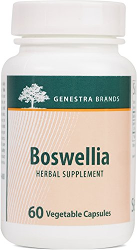 Genestra Brands – Boswellia Herbal Supplement for Bone Health – 60 Vegetable Capsules