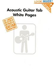 Acoustic Guitar Tab White Pages (Paperback)