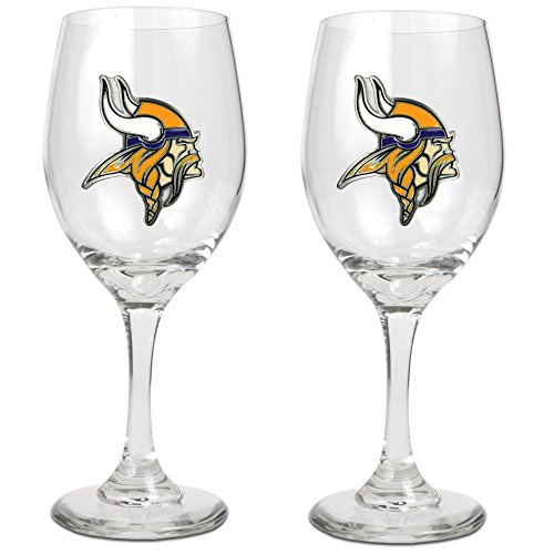 NFL-14-Ounce-Wine-Glass-Set-of-Two