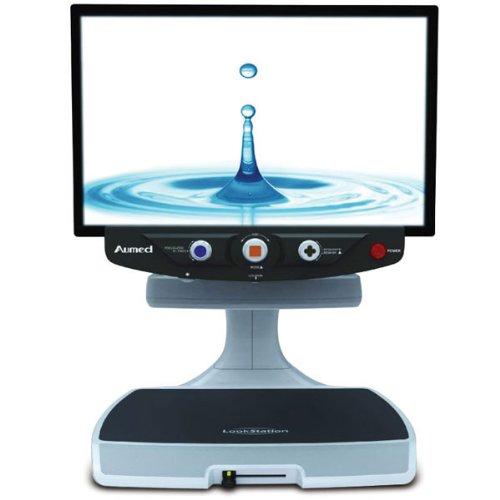 LookStation HD Desktop Video Magnifier-24in-2.5x-79x ()