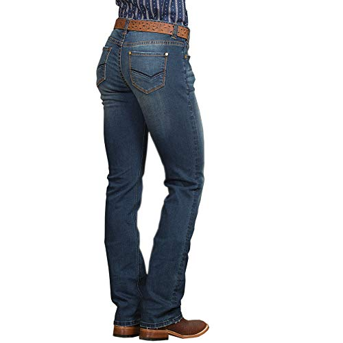 Rock & Roll Cowgirl One Light Town Riding Jeans ()