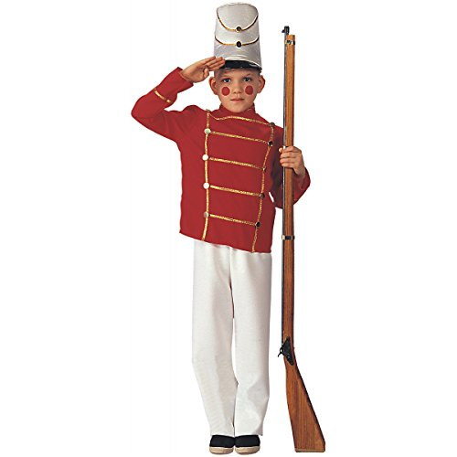 Kids Boys XMAS Costume Nutcracker Toy Soldier Outfit M Boys Medium (5-7 years) by Costumelicious