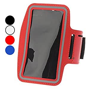 GONGXI Waterproof Pouches with Armband for Samsung Galaxy Note 2 N7100 (Assorted Colors) , Blue