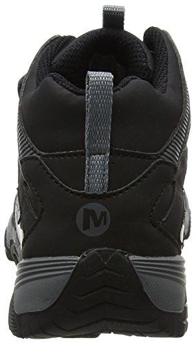 C Merrell Noir FST Garçon Mid de Moab M Hautes Chaussures Black Randonnée WTRPF A wXXqrUZxpn