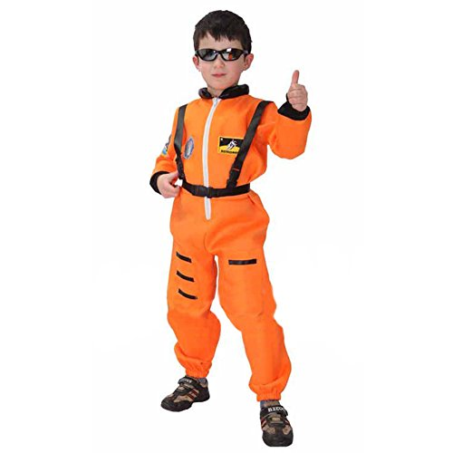 TopTie Astronaut Jumpsuit With Attached Suspenders, Child As