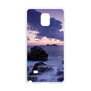 Clouds Sky And Sea White Phone Case for Diy For SamSung Galaxy S5 Mini Case Cover