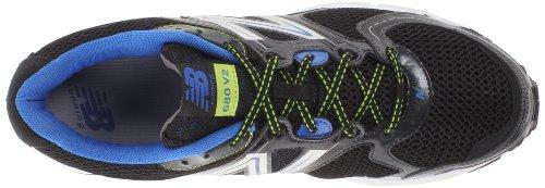 New Balance M680bb2, Scarpe da corsa Uomo Nero (Nero/Blue)