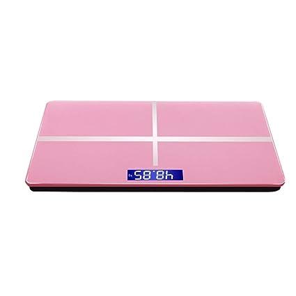 ZNND Báscula De Grasa Digital Bluetooth Escalas De Pesaje Inteligente Inalámbrico Peso, 180kg / 400