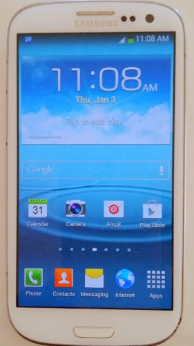 Samsung Galaxy S3 SGH-i747 4G LTE GSM Unlocked 16GB No Warranty (White) by Samsung