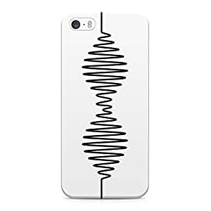 Arctic Monkeys Wave Logo Hard Plastic Snap-On Case Cover For iPhone 5 and iPhone 5s