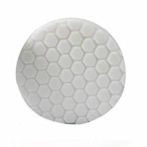 Chemical Guys BUFX_104_HEX5 Hex-Logic Light-Medium Polishing Pad, White (5.5 Inch)