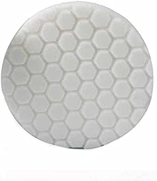 "Hexlogic Pad White 5.5/"" Medium Light Polishing Pad Chemical Guys BUFX/_104HEX5"