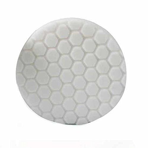 Curved Work Surface (Chemical Guys BUFX_104_HEX5 Hex-Logic Light-Medium Polishing Pad, White (5.5 Inch))