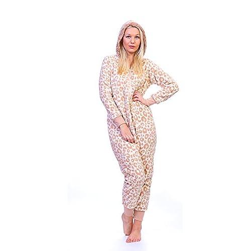 totally pink womens plus size warm and cozy plush adult onesiepajamas onesies giraffe 1x2x