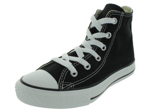 Converse 3J231 : Kids' Chuck Taylor All Star Core Hi Sneaker Black (2 M US Little Kid, Black/White)