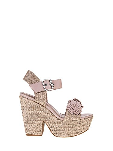 FornarinaWomen's Sandals with high Wedge Colored Powder Pattern Marion Article PE18MA1838C067 New Spring Summer 2018 Collection - Womens Fornarina Wedge