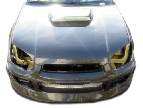 (Carbon Creations Replacement for 2004-2005 Subaru Impreza WRX STI STI Look Hood - 1)
