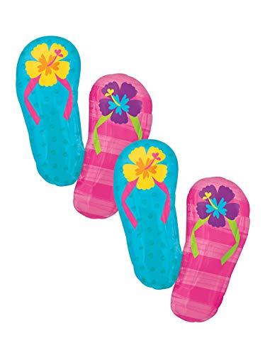 Balloon Flip Flops (Set of 2 Floral Flip Flops Jumbo 33