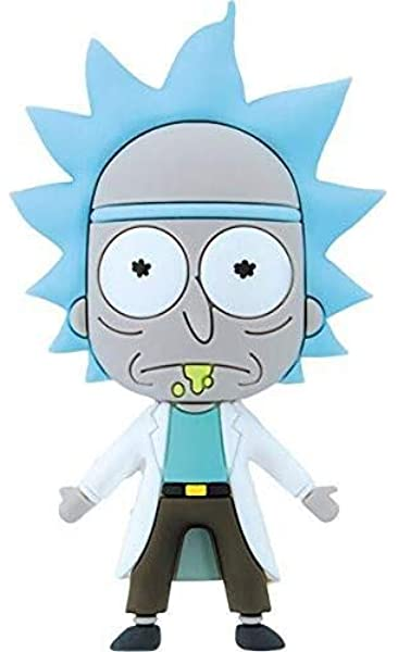 Rick and Morty Animated Series Rick Figure Free Rick Refrigerator Magnet UNUSED