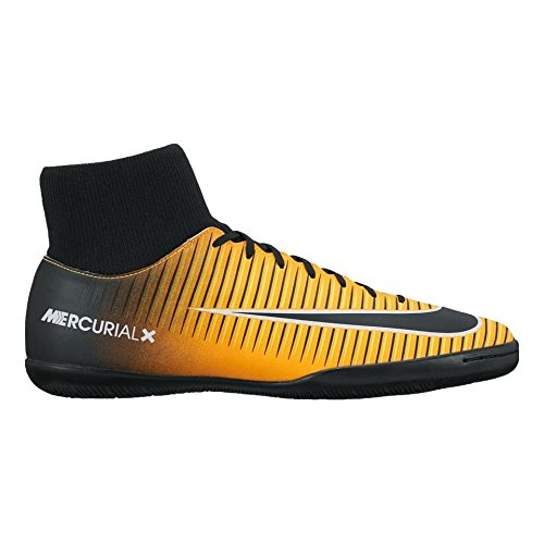 NIKE MercurialX Victory VI Dynamic Fit Indoor Shoes Indoor/Court Football Boot [Laser Orange] (10)