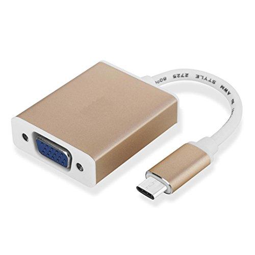 bescita de type C vers HDMI femelle Câble adaptateur convertisseur vidéo pour PC Ordinateur Portable TV