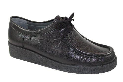 Mephisto-Chaussure Lacet-CHRISTY Noir cuir 4800-Femme