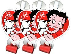 Betty Boop Party Decorations - Betty Boop Party Blowouts 8 in Package Diecut
