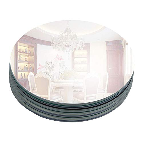 Round Glass Mirror (12