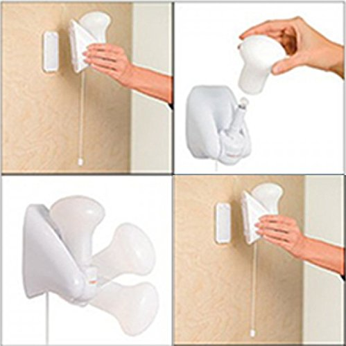 Handy Bulb LED Cordless Wall Mountable Lamps Sconces, 4 Pack - Takes Minutes to Install Anywhere!