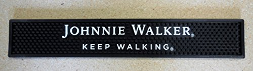 johnnie-walker-keep-walking-bar-rail-spill-mat-black-new