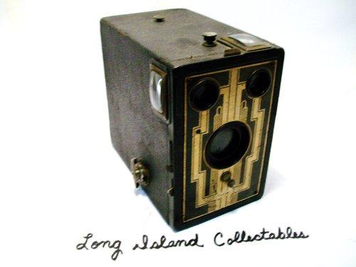 Vintage Kodak Brownie Art Deco Box Camera *AS PICTURED*