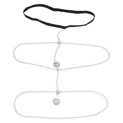 0e8a886964 Mmrm Women Body Jewelry Chain Tassel Thigh Leg Chain Bracelet ...