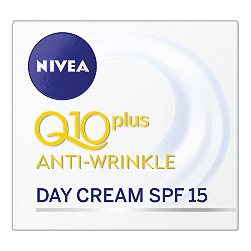 Nivea Q10 Plus Spf 15 Anti-Wrinkle Face Day Cream, 50 Ml, Pack Of 3