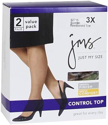 JMS Smooth Finish Control Top RT/_Off Black/_XXXX-Large