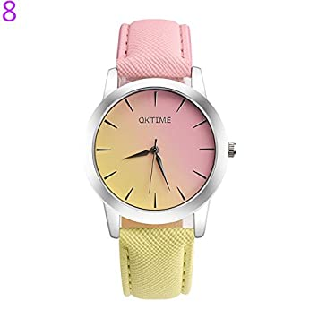 Zedo Relojes Mujer Reloj Pulsera Mujer Relojes de Mujer Reloj señora Reloj de Mujer Reloj Chica Reloj analogico Reloj de Cuarzo Estudiante Reloj de Pareja ...